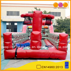 Inflatable Red Basketball Bungee Game (AQ1716-2) pictures & photos