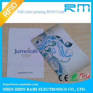 Cmyk Printing 125kHz RFID Smart Card for Access Control (EM4305)