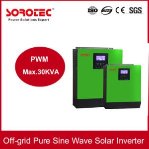 1-5kVA Hybrid off-Grid Pure Sine Wave Solar Inverter pictures & photos