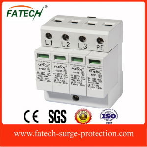 IEC 3 Phase 3P+N Imax 40ka Surge Arrester pictures & photos