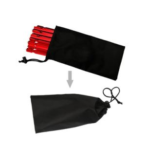 Carries Aluminium Tent Peg Stake 10-Piece Tent Stakes and Bag pictures & photos