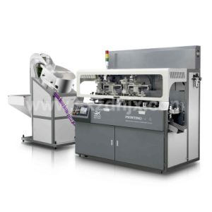 Fully Automatic Chain-Type Multicolor Cosmetic Screen Printing Machine
