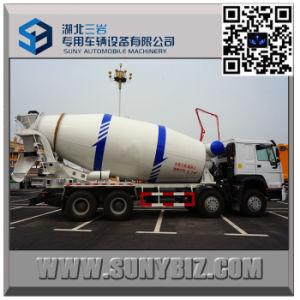 HOWO 12 Wheeler 14 M3 Cement Mixer Truck