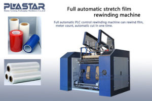 Plastic PE Stretch Film Rewinding and Slitting Machine pictures & photos