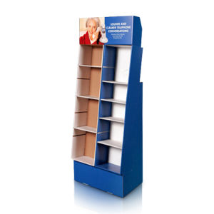 Promotional POS Paper Display Stand, PDQ Cardboard Display Racks pictures & photos