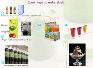 Slush frozen drink machine CE /ETL certificate pictures & photos