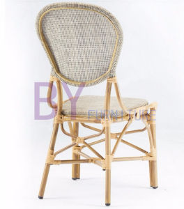 New Products Fascinating Non-Wood Aluminum High Back Rattan Chairs pictures & photos