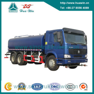 Sinotruk HOWO 6X4 Sanitation Water Spray Truck 15cbm pictures & photos