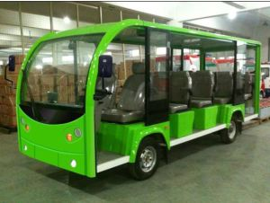 CE Approved Electric Tourist Bus with Proof for 14 Passengers pictures & photos