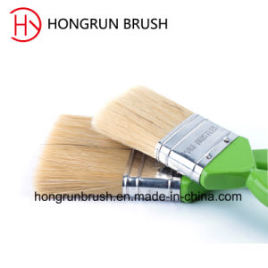 Wooden Handle Bristle Paint Brush (HYW023) pictures & photos