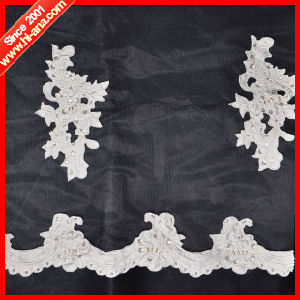 15 Years Factory Experience Various Colors Lace Embroidery Fabric pictures & photos