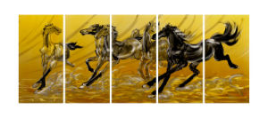 2017 Horse New Design for Metal Painting pictures & photos