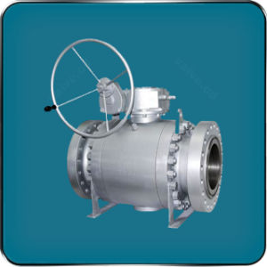 API Casting Steel Trunnion Ball Valves pictures & photos