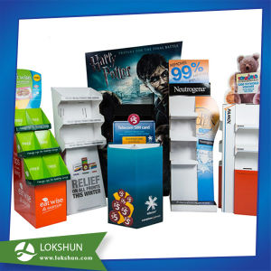 Custom POS Corrugated Retail Store Pen Display pictures & photos