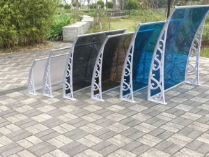 Clear Waterproof Polycarbonate Decorative Window Canopy for Veranda/Porch pictures & photos
