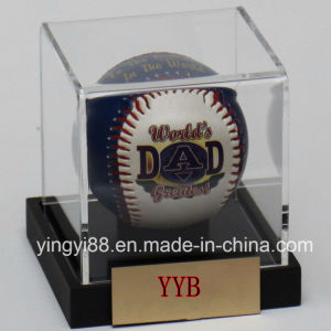Top Selling Baseball Personalized Engraved Acrylic Display Case pictures & photos