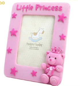 Custom 3D Soft PVC Photo Frame for Home Decoration pictures & photos