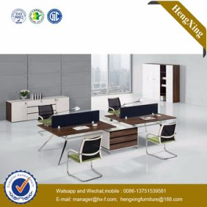 China Customized MDF Wooden Workstation Office Furniture (HX-TN157) pictures & photos