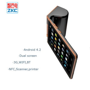 Handheld Tablet PC POS Terminal with Billing Printer Qr Code Payment Scanner NFC pictures & photos