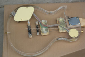 Hanhai Music / Lp Standard Electric Guitar with Acrylic Glass Body pictures & photos