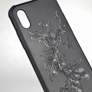 Mirror Relief Scrub TPU Phone Case Cover for iPhone pictures & photos