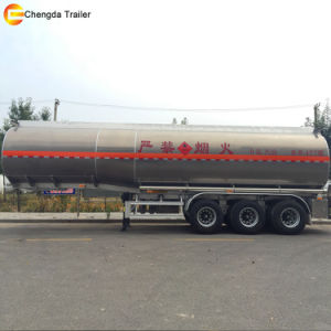 3 Axle Stainless Steel Fuel Tank Trailer pictures & photos