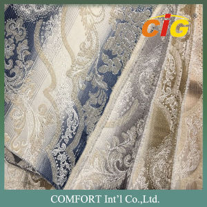 Jacquard Chenille Upholstery Fabric Bonding Sofa Fabric (CIG-225) pictures & photos