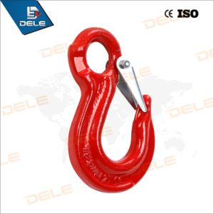 G80 Eye Hoist Hook with Latach pictures & photos