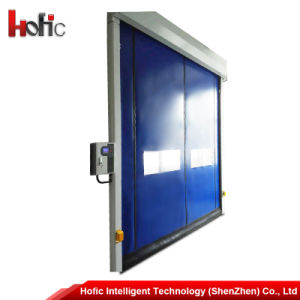 Flexible PVC High Speed Roller Shutter Rapid Self Recovery Door pictures & photos
