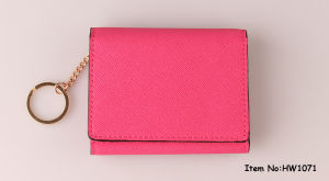 2018 Fashion Women PU Leather Wallet (HW1071) pictures & photos