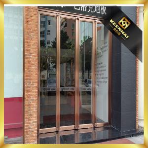 Semi-Auto Metal Stainless Steel Glass Door pictures & photos