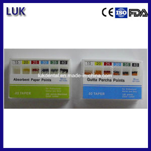 Manufacturer of Dental 0.04 Gutta Percha Points/Gp with Ce Approved and Good Price pictures & photos
