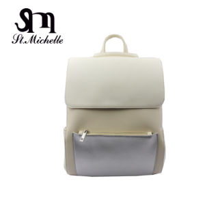 Plain Style Branded Backpack for Young Lady pictures & photos