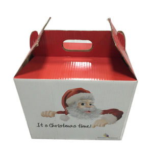 Christmas Corrugated Paper Packaging Box Customized pictures & photos