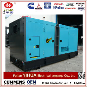 Dcec OEM Cummins and Stamford 120kVA/96kw Electric Silent Diesel Generator pictures & photos