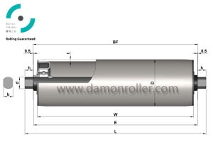 Gravity Steel Roller for Conveyor (1800) pictures & photos