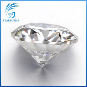 Factory Wholesale Price 1CT 6.5mm Round Moissanite Loose Stones pictures & photos