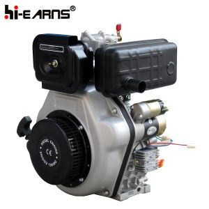 10 HP Diesel Engine Electric Start with Taper Shaft (HR186FAE) pictures & photos