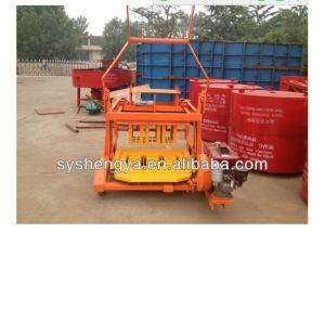 Shengya Block Machinery Qm4-45 Diesel Engin Hydraulic Block Making Machine pictures & photos
