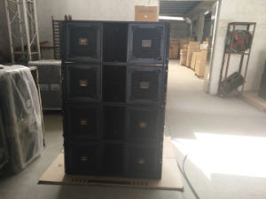 "Three Way Double 12"" Active Line Array Speaker for Sound System pictures & photos"