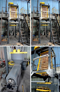 HDPE & LDPE Film blowing machine pictures & photos