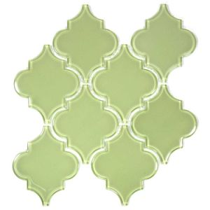 Moroccan Pattern Glass Mosaic Tile pictures & photos
