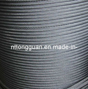 Elevator Wire Rope (8*19S+NF 10.0mm) pictures & photos