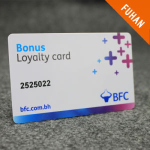 Customized Shopping Mall Plastic Loyalty Card pictures & photos