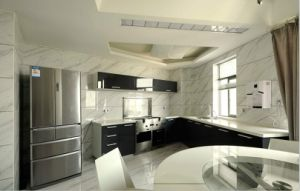 New Design Wholesale High Glossy Wood Kitchen Cabinet Yb1707036 pictures & photos