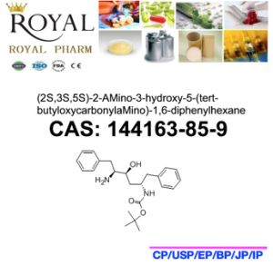 (2S, 3S, 5S) -2-Amino-3-Hydroxy-5- (tert-butyloxycarbonylaMino) -1, 6-Diphenylhexane CAS: 144163-85-9, Bdh, 99.0% Min. pictures & photos