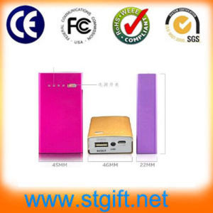 7800mAh Portable Metal Power Bank for Mobile Phone