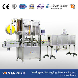 21000bph Automatic Sleeving Labeler Shrink Sleeve Labeling Machine