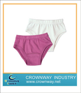 100%Cotton Baby Underwear in Solid Design pictures & photos