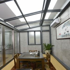 Hot Selling Aluminum Sunroom Conservatory Glass Sunroom with Fly Screen (TS-627) pictures & photos